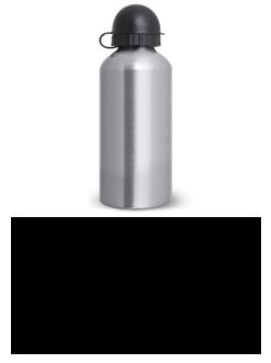 Personalize Squeeze Alumínio Escovado 750 ml.